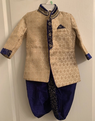Picture of Designer baby outfit fits 6m-1yr