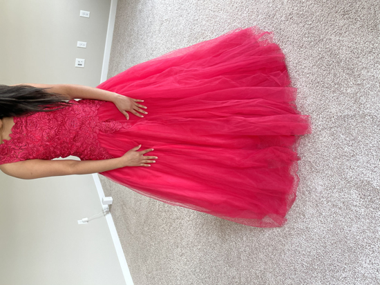 Picture of Pink Long frock