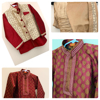 Picture of 2 sets of 5-6Y boy's Ethnic wear.