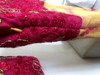 Picture of Georgette Long frock/dress