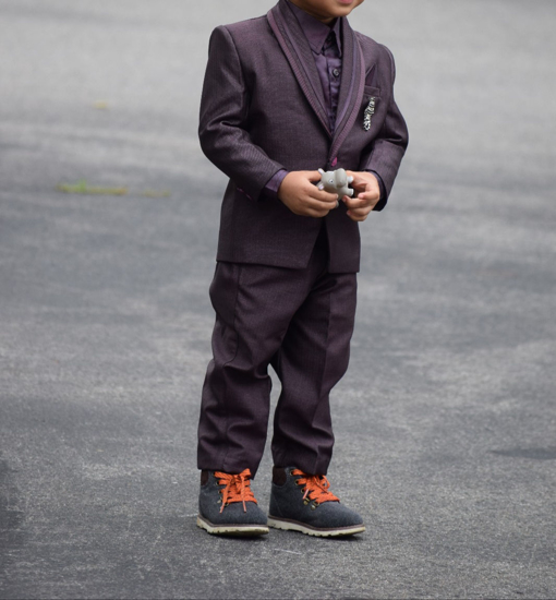 Picture of Toddler boy suit set