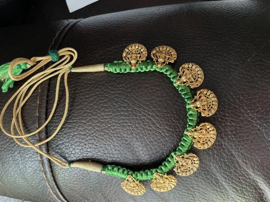 Picture of Lakshmi Devi dori necklace