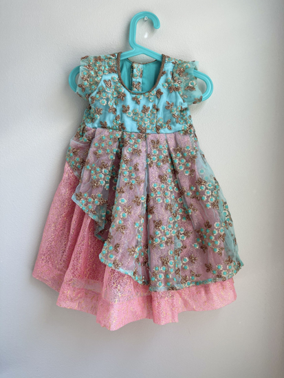 Picture of new customised frock 1-3Y