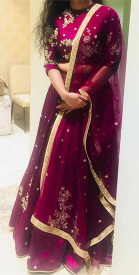 Picture of Designer bridal Lehenga