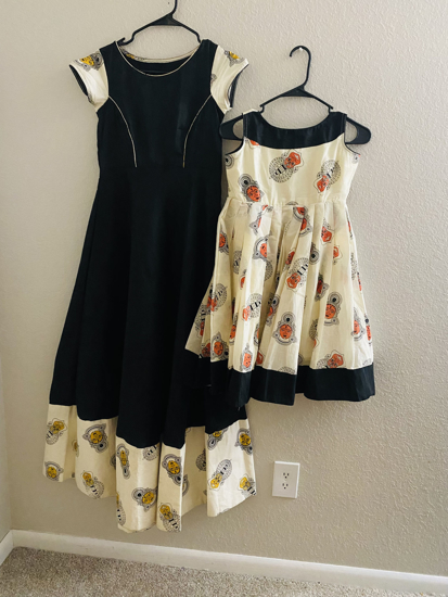 Picture of Sisters Twinning  Dress. Or Mom nd Daughter dress