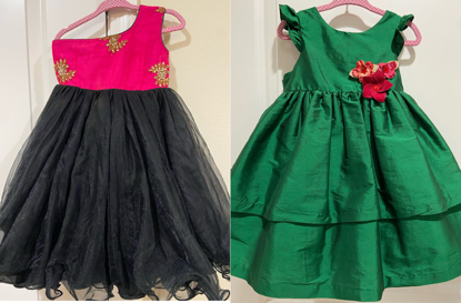 Picture of 1-2 year old short dresses