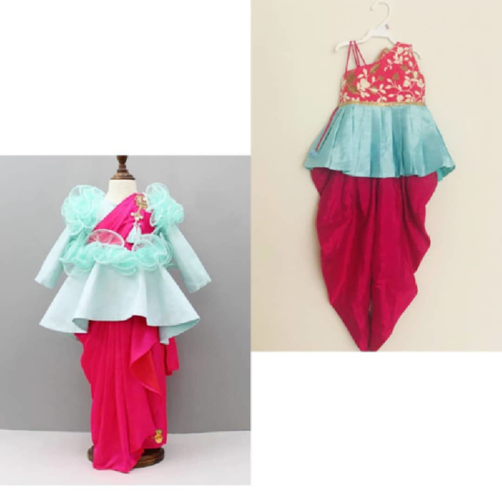 Picture of 3-4 year Ethnic Wear Combo for girls