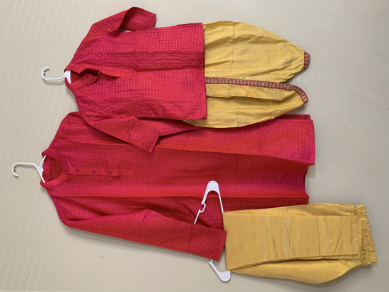Picture of Customized Twinning father and sons kurta set
