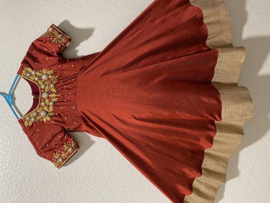 Picture of Burgundy dress 3Y