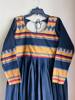 Picture of Narayanpet cotton long dress with full sleeves (black )(never worn)