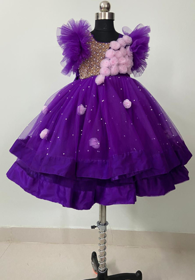 Picture of Beautiful  birthday frock