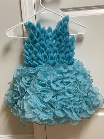 Picture of Ananda Blue party wear ball gown