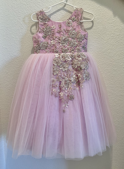 Picture of Baby Lavender Tulle Dress