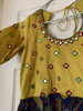 Picture of Kalamkari Long Frock with mirror embroidery work