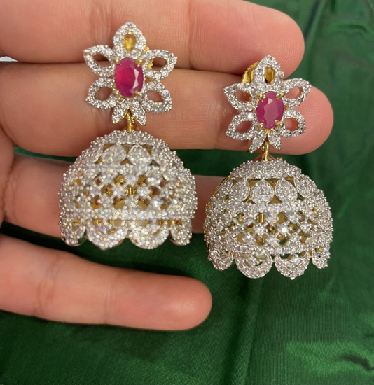 Picture of CZ Jhumkas