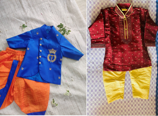 Picture of 6 months to 1 year Ethnic wear