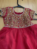 Picture of Designer Red Frock