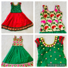 Picture of Set of 2 kids party wear lehengas 3-5y