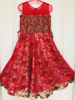 Picture of Party wear chudidar and long frock 3-4 years old