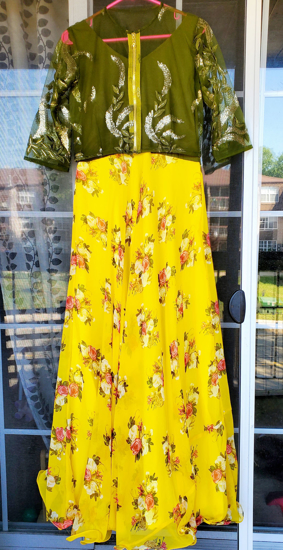 Picture of Party wear long frock