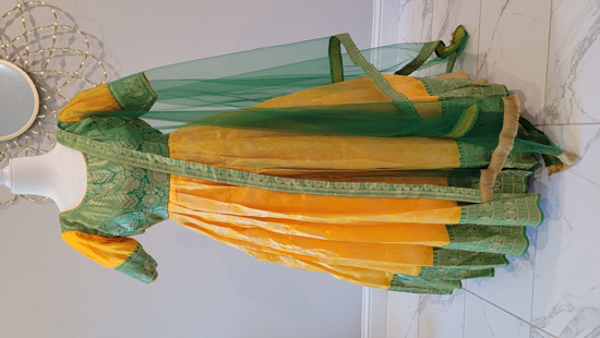 Picture of Banaras Long frock