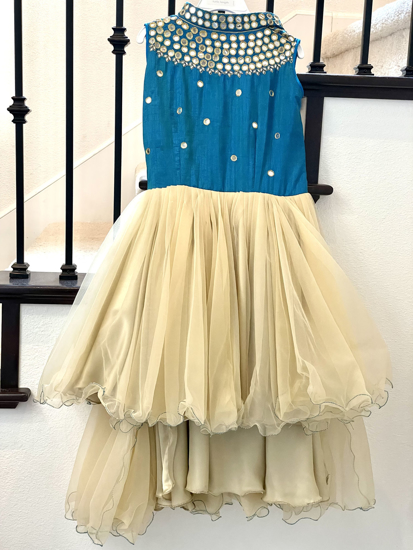 Picture of High and low ethnic frock 3-4Y