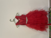 Picture of Girls Red color long dress