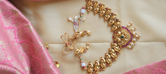 Picture of Temple Ganesha Small Necklace