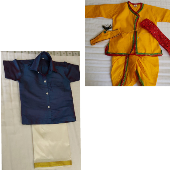 Picture of Combo of Traditional outfits 1-2y