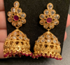 Picture of Beautiful Ruby necklace set