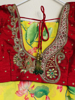 Picture of Pure georgette lotus saree