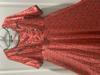 Picture of Brand new- modal silk satin patola print anarkali