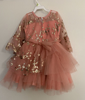 Picture of Set of 2 frocks gray and pink 2-3Y