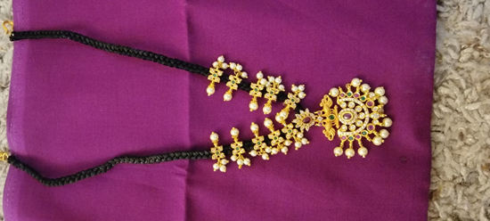 Picture of Black thread chain