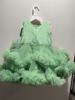 Picture of Beautiful Mint Green Party Wear Frock