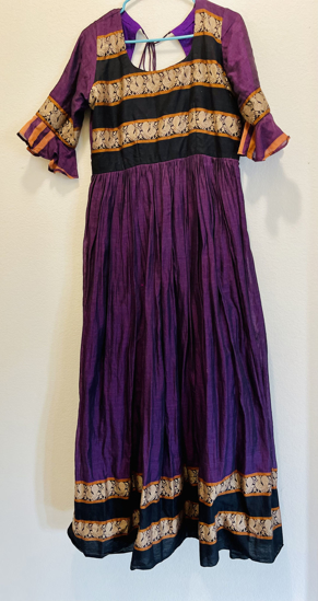 Picture of Narayanpet maxi with ruffle sleeves