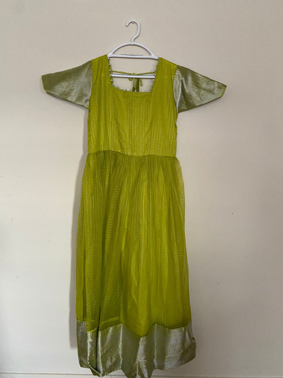 Picture of Organza long dress (L)