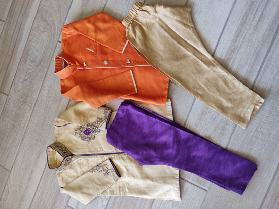 Picture of 2 year old boy kurtha sets