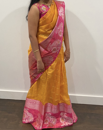 Picture of Fancy organza Saree