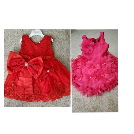 Picture of Set of 2 baby frock