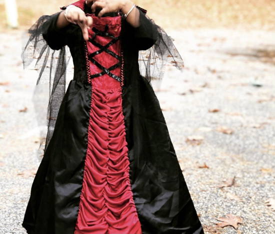 Picture of Halloween Victorian Vampire Costume (4 - 6 yrs)