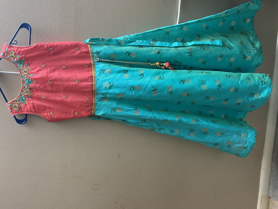 Picture of Kids long frock 8-10Y