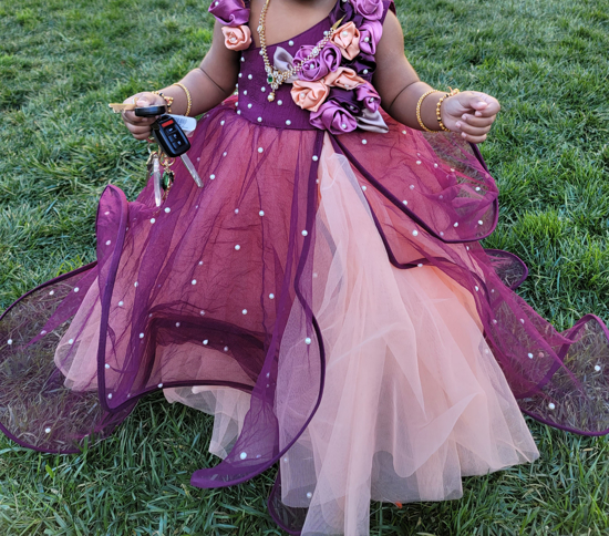 Picture of party dress