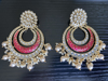 Picture of Brand New Chand Earring with Gold Plating
