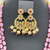 Picture of Elegant Pink Monalisa beads Rani Haram