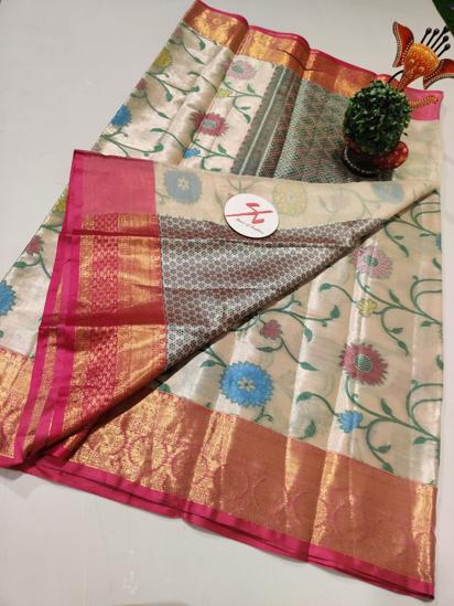 Picture of Brand new kanjivaram soft malai pattu saree