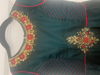 Picture of embroidery long frock with benaras dupatta 8-10Y