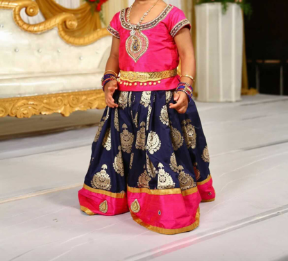 Picture of Pattu langa traditional 2-3Y