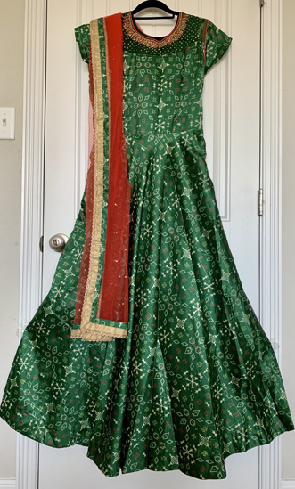 Picture of Beautiful Patola Inspired Anarkali