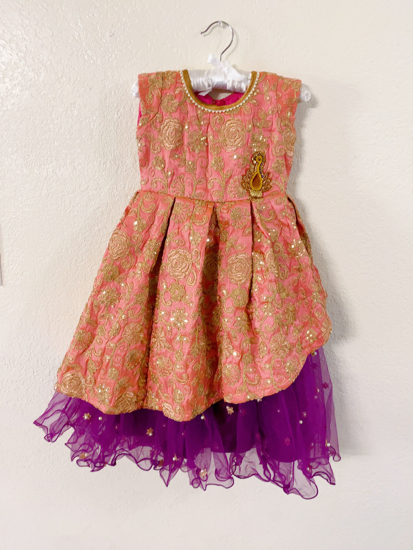 Picture of Beautiful Designer Party Wear Gown (2 - 4 Yrs)
